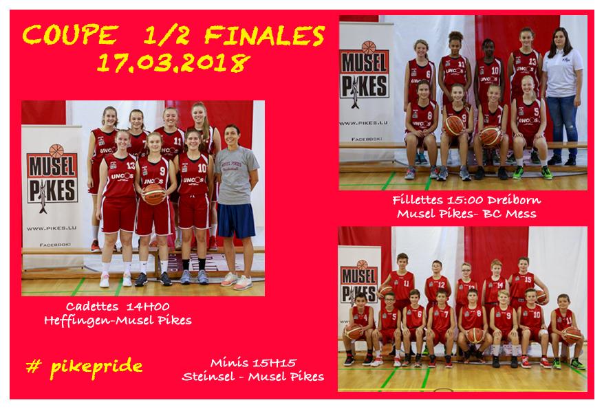 17.03.2018  Coupe 1/2 Finallen vun der Pikes Jugend
