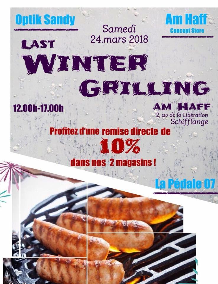 Last Winter Grilling