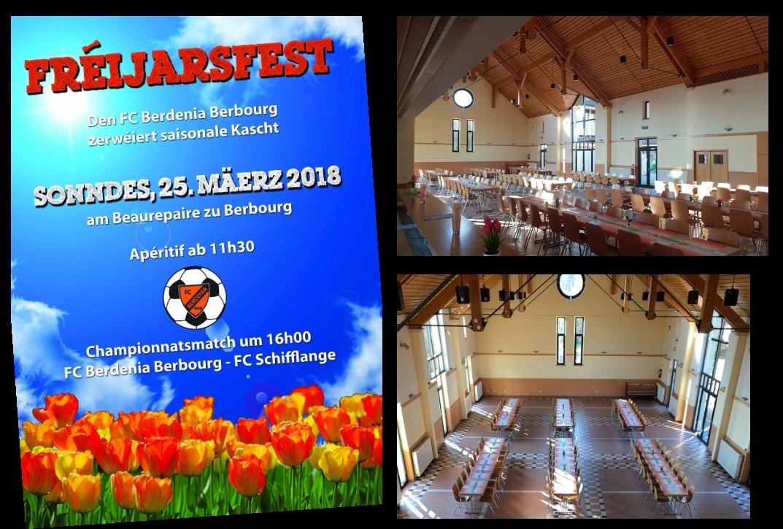 Fréijarsfest haut am Beaurepaire