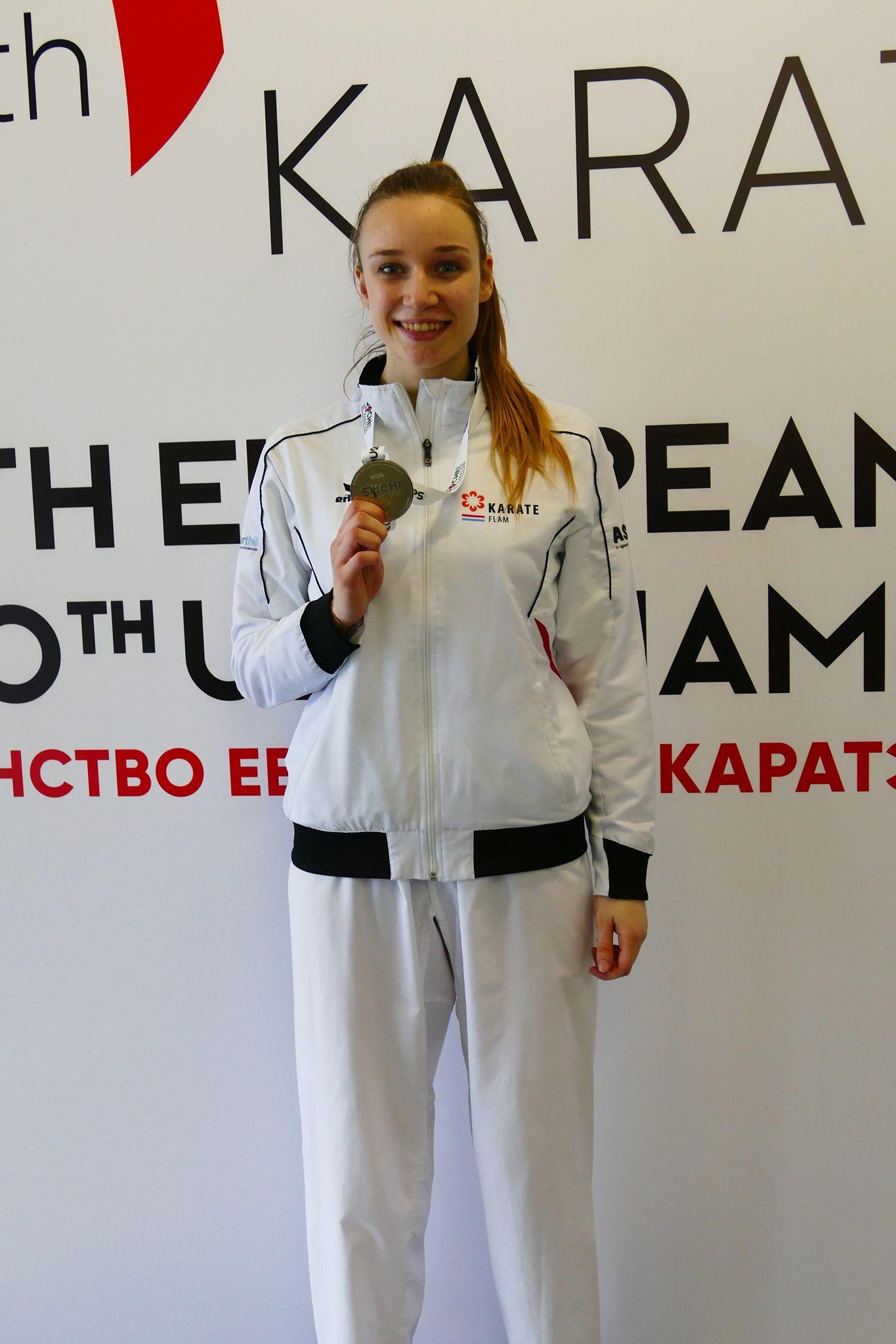 Berna Allison Vice Championne d'Europe