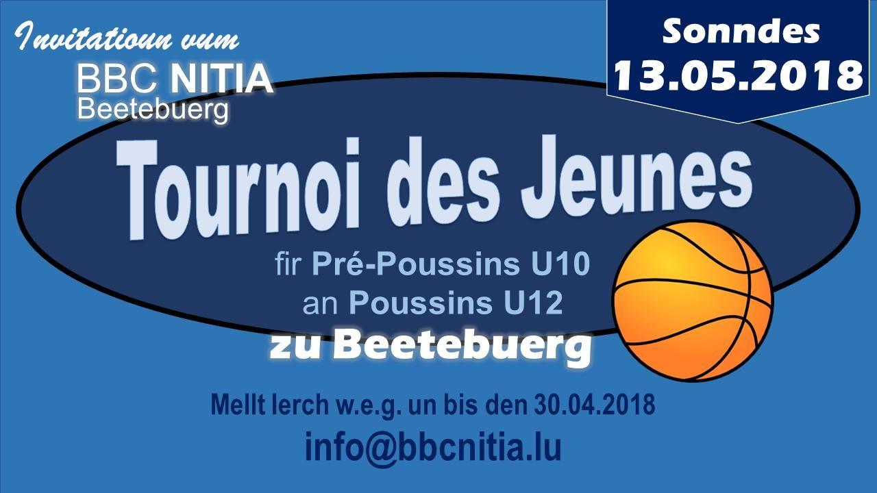 Tournoi des Jeunes den 13. Mai zu Beetebuerg