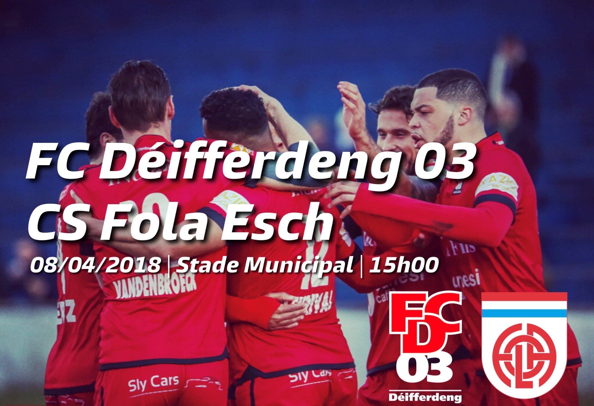 FC Déifferdeng 03 - Fola Esch
