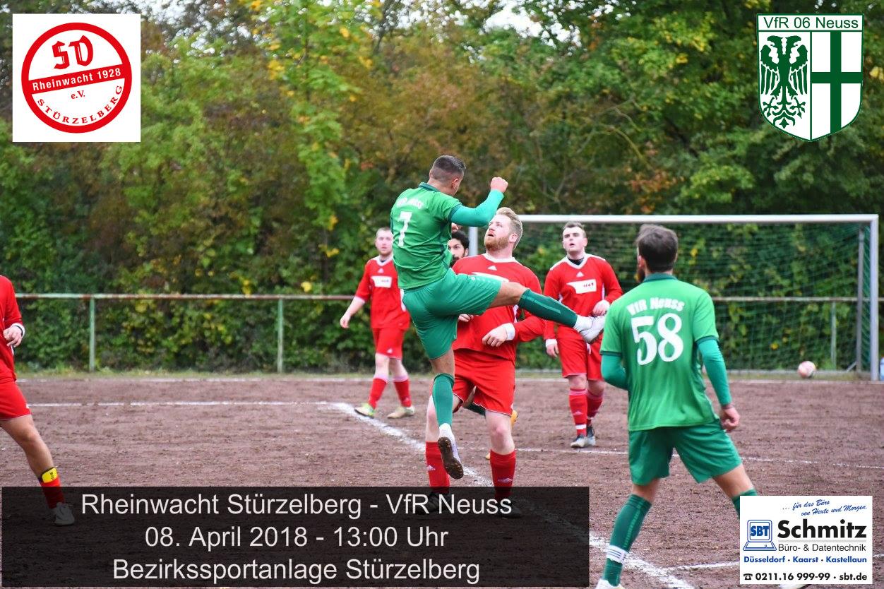 VfR mit breiter Brust nach Stürzelberg