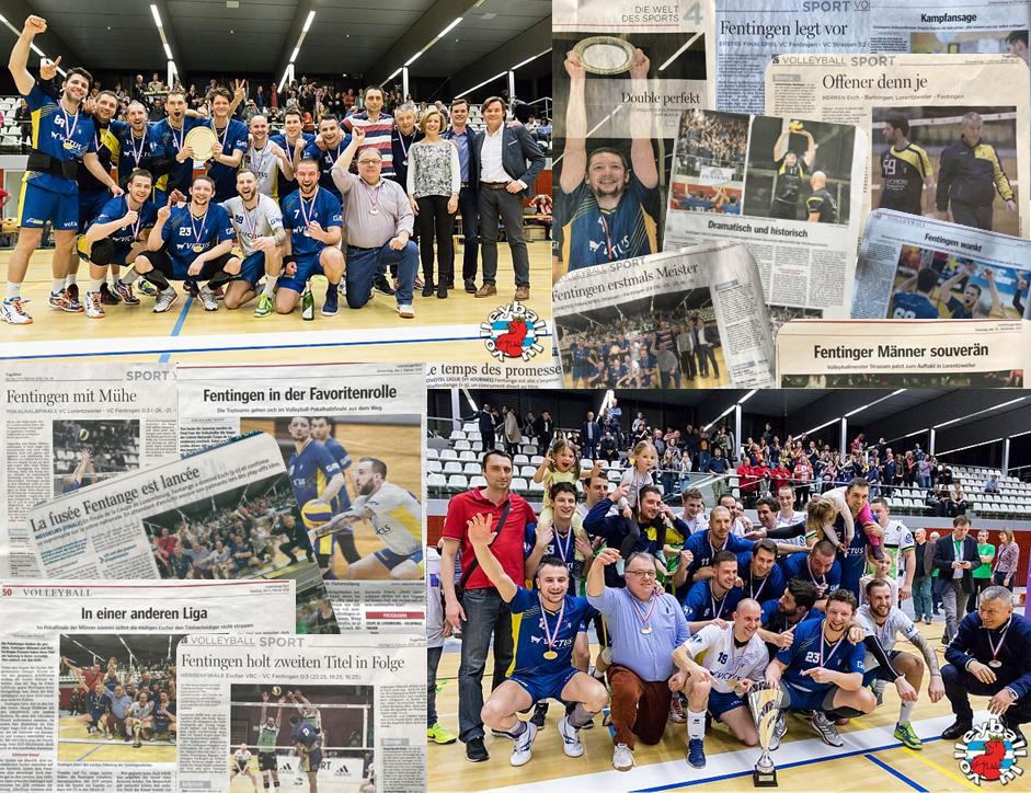 Champion de Luxembourg et gagnant de la Coupe de Luxembourg 2018