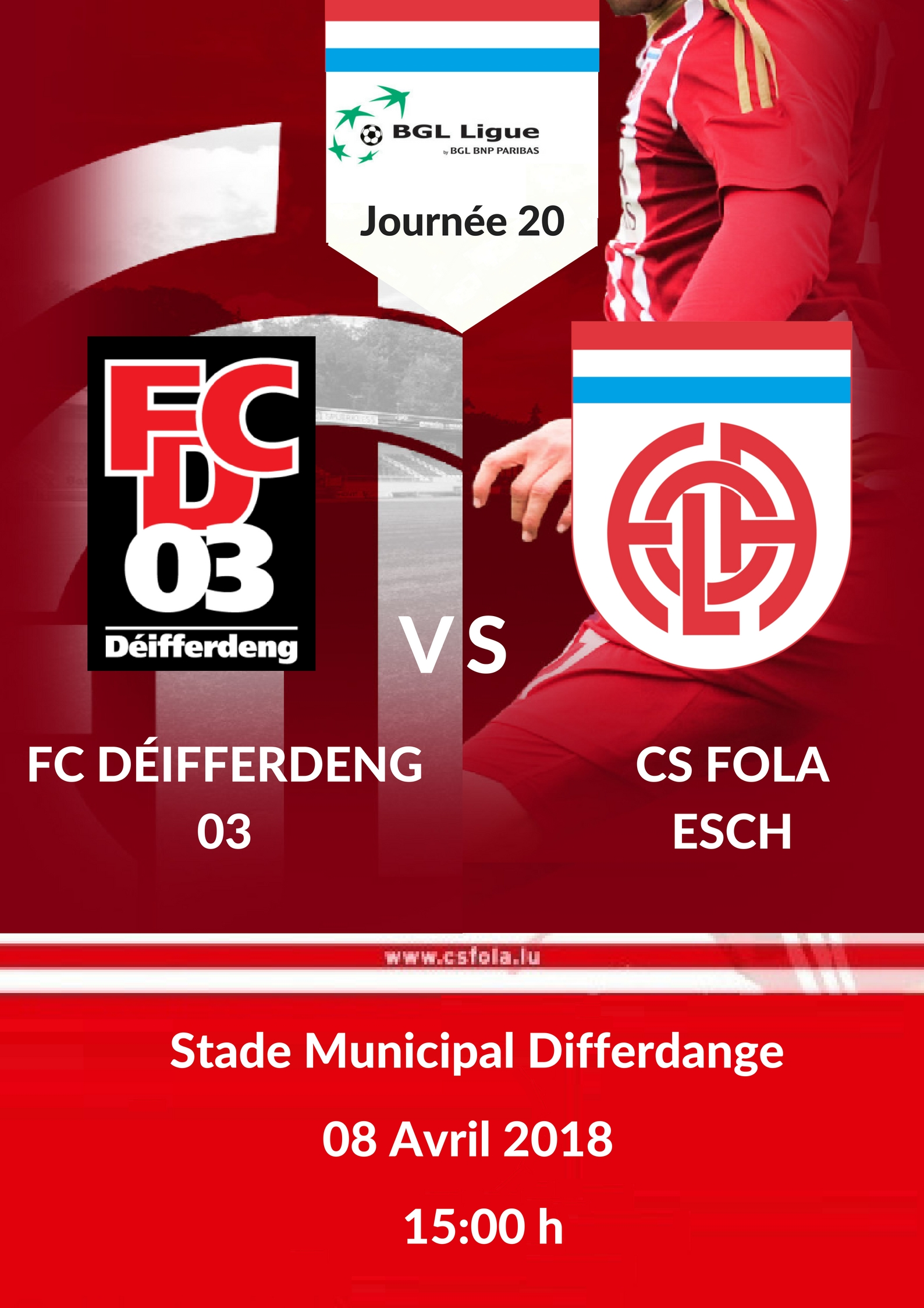 FCD03 vs CS FOLA