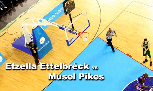 De Match Etzella Ettelbréck - Musel Pikes um 20h30 am LIVE-STREAM
