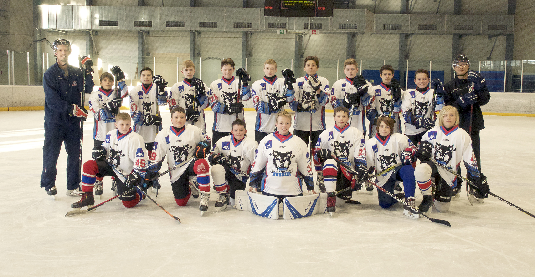 U13 & U11 ARE WAITING FOR YOU THIS WEEK END AT AXA HUSKIES ICE CUP 2018 AT KOCKELSCHEUER