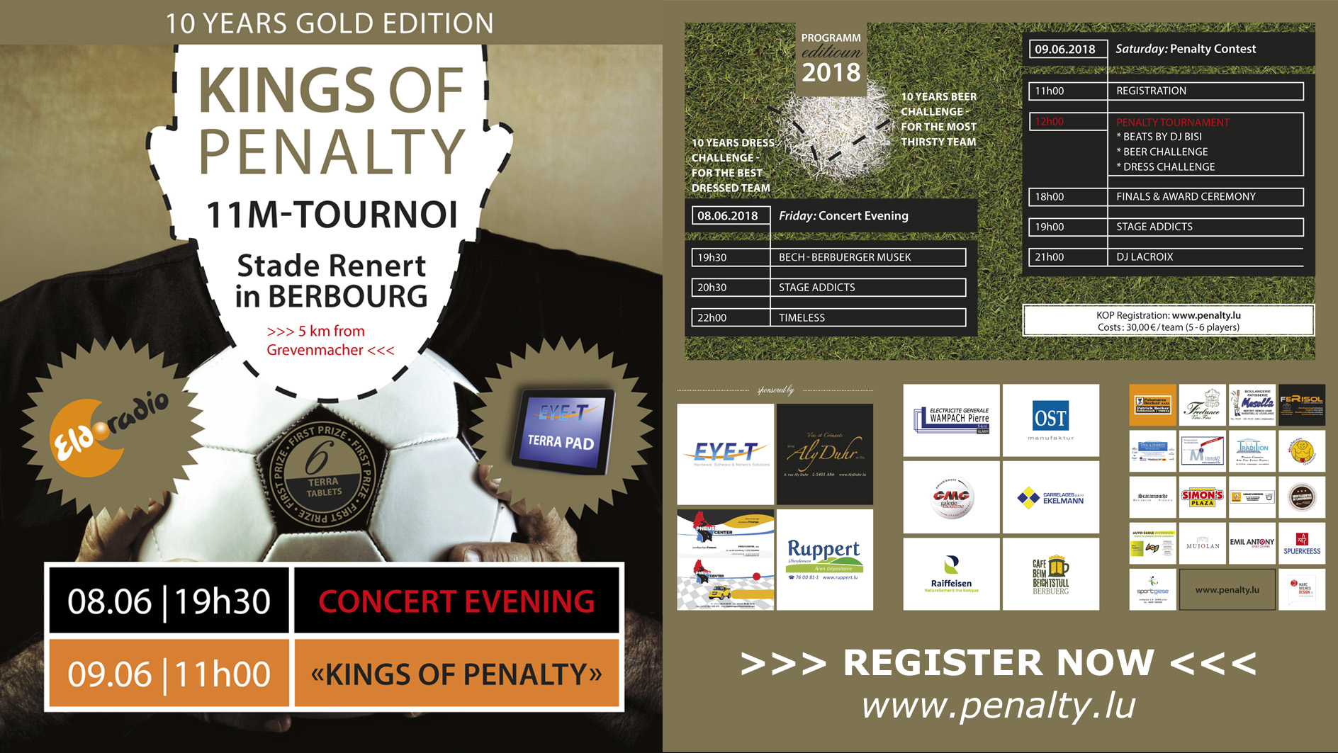 Kings of Penalty 2018: Registrations open now