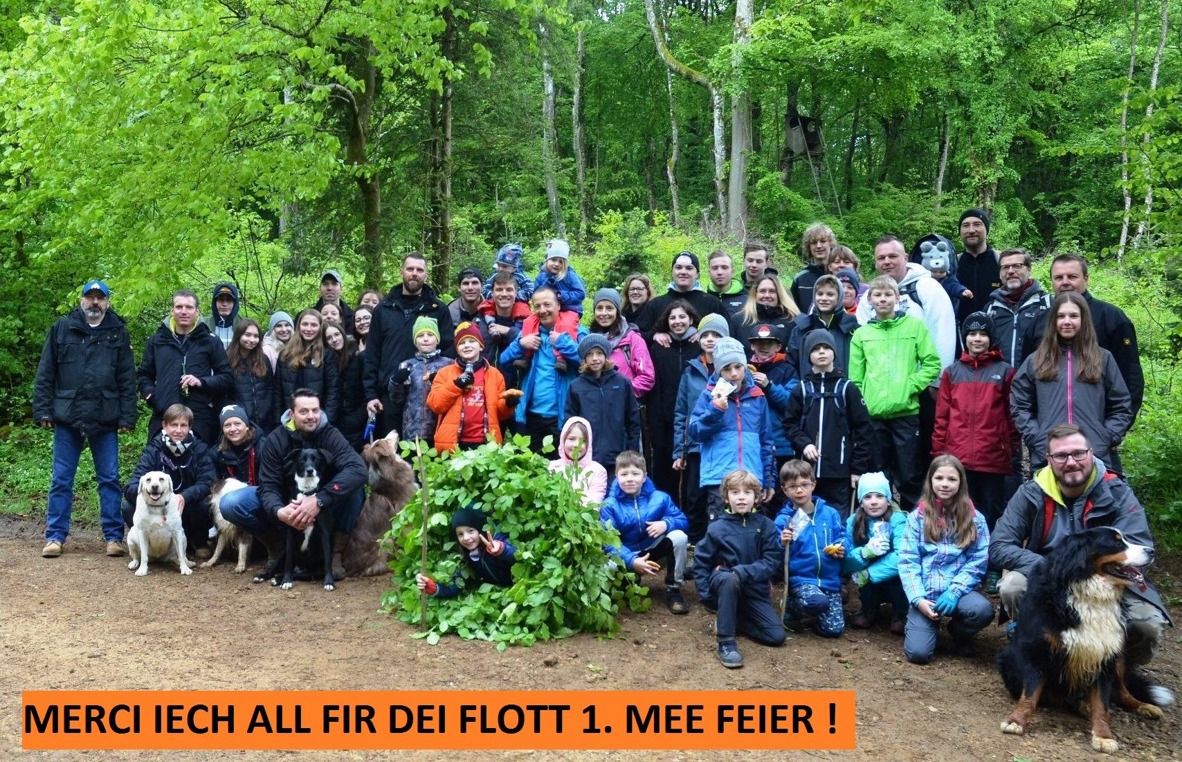 1. MEE FEIER 2018 - MERCI