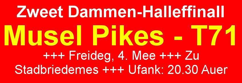 ladies half final game 2 PIKES-T71