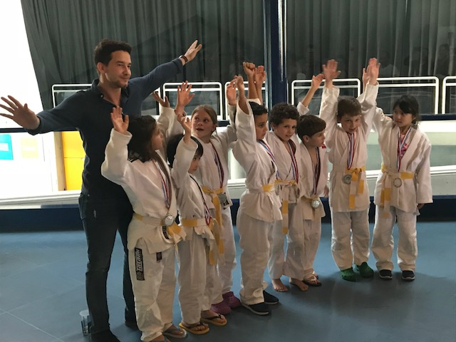 Judo Club Stroossen nationaler Vizemeister in der Jugend U 9