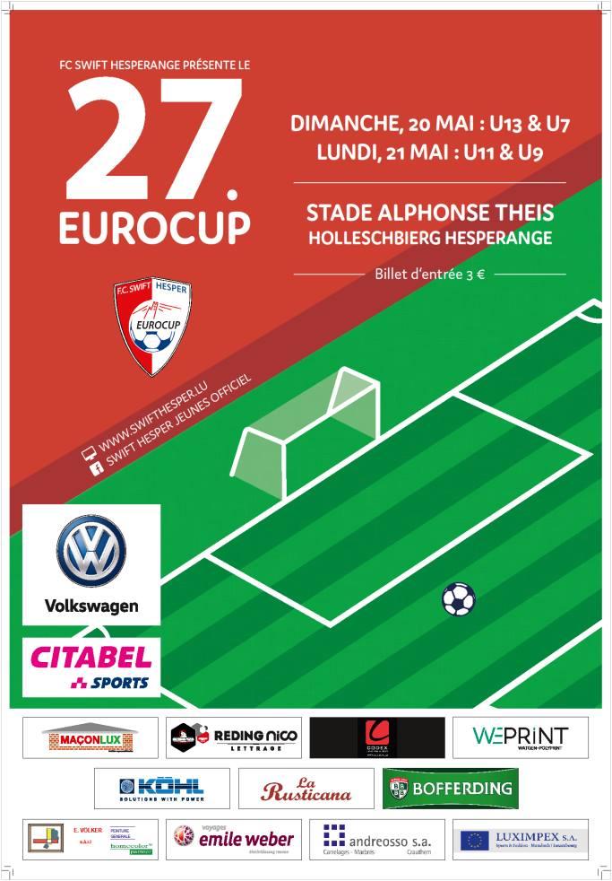 27. Eurocup den 20. an 21. Mee