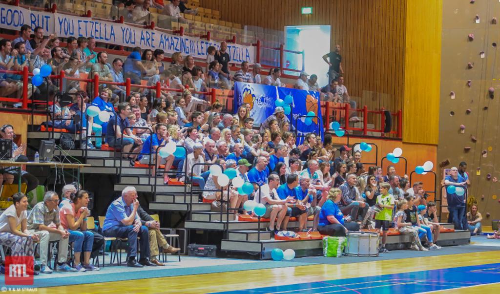 Am Schnett nemmen 700 Zuschauer bei den 3 Finall-Mätcher