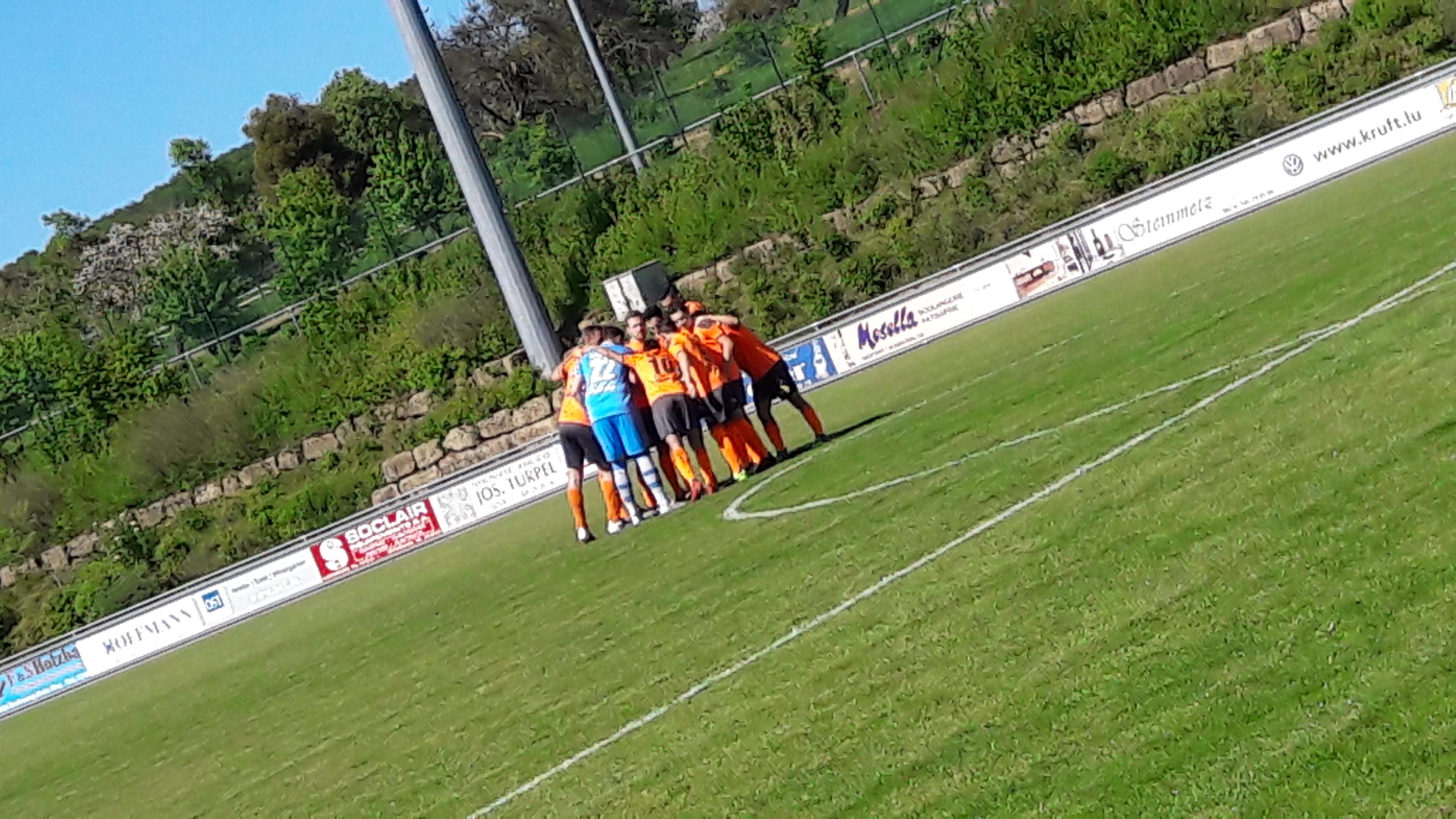 Matchday: FC Mondercange - FC Berdenia Berbourg