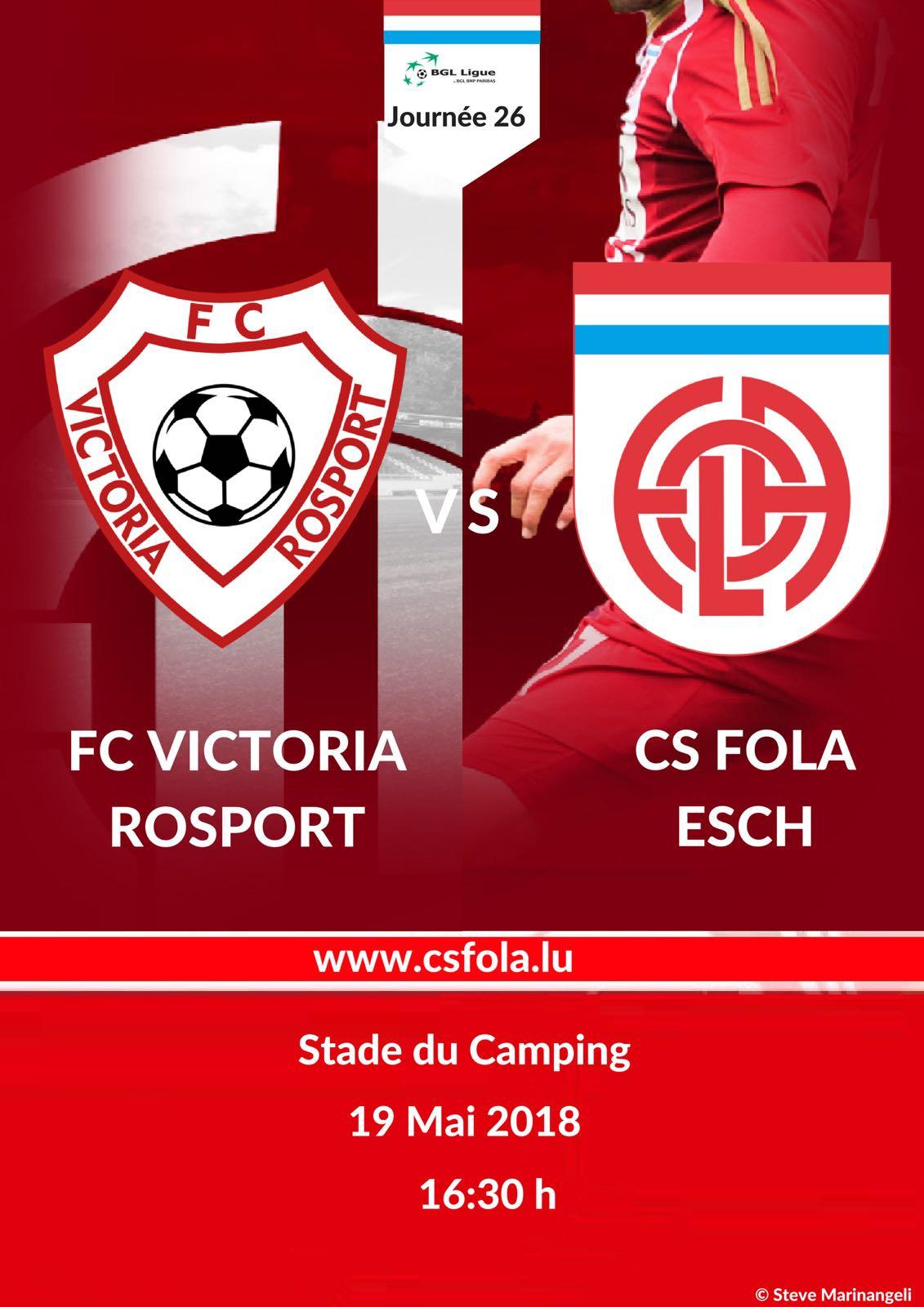 FC Victoria Rosport vs CS Fola