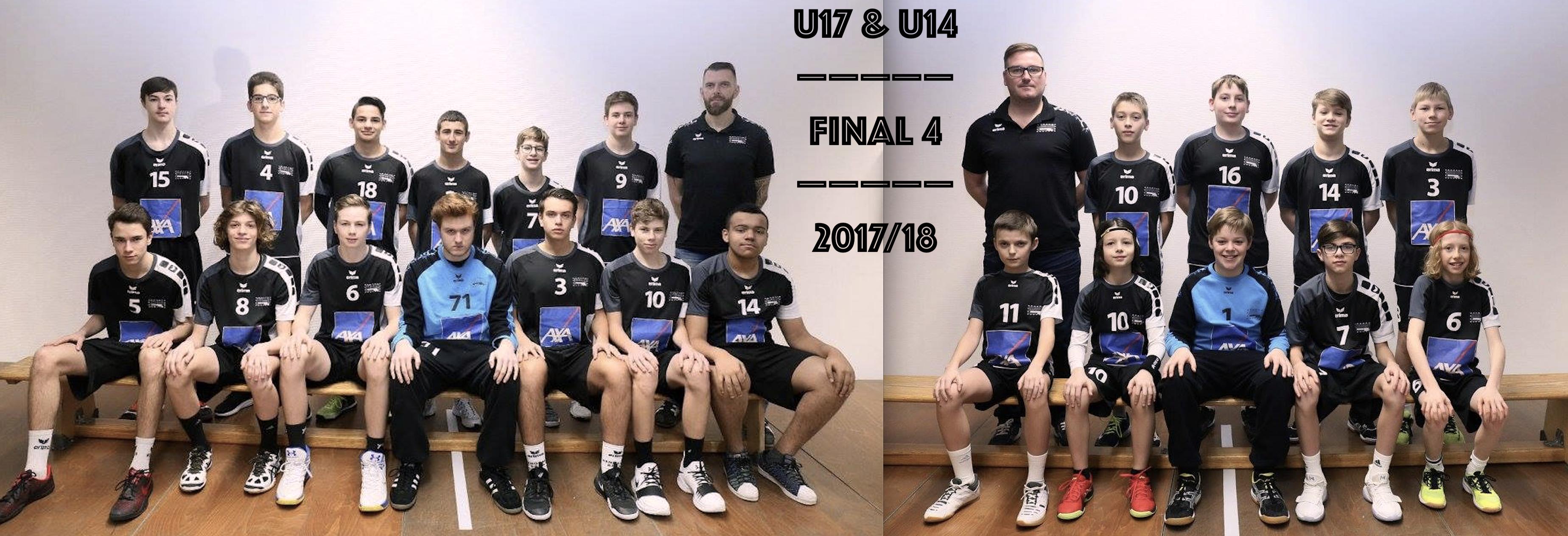 FINAL 4 bei der U14 an U17 Jongen