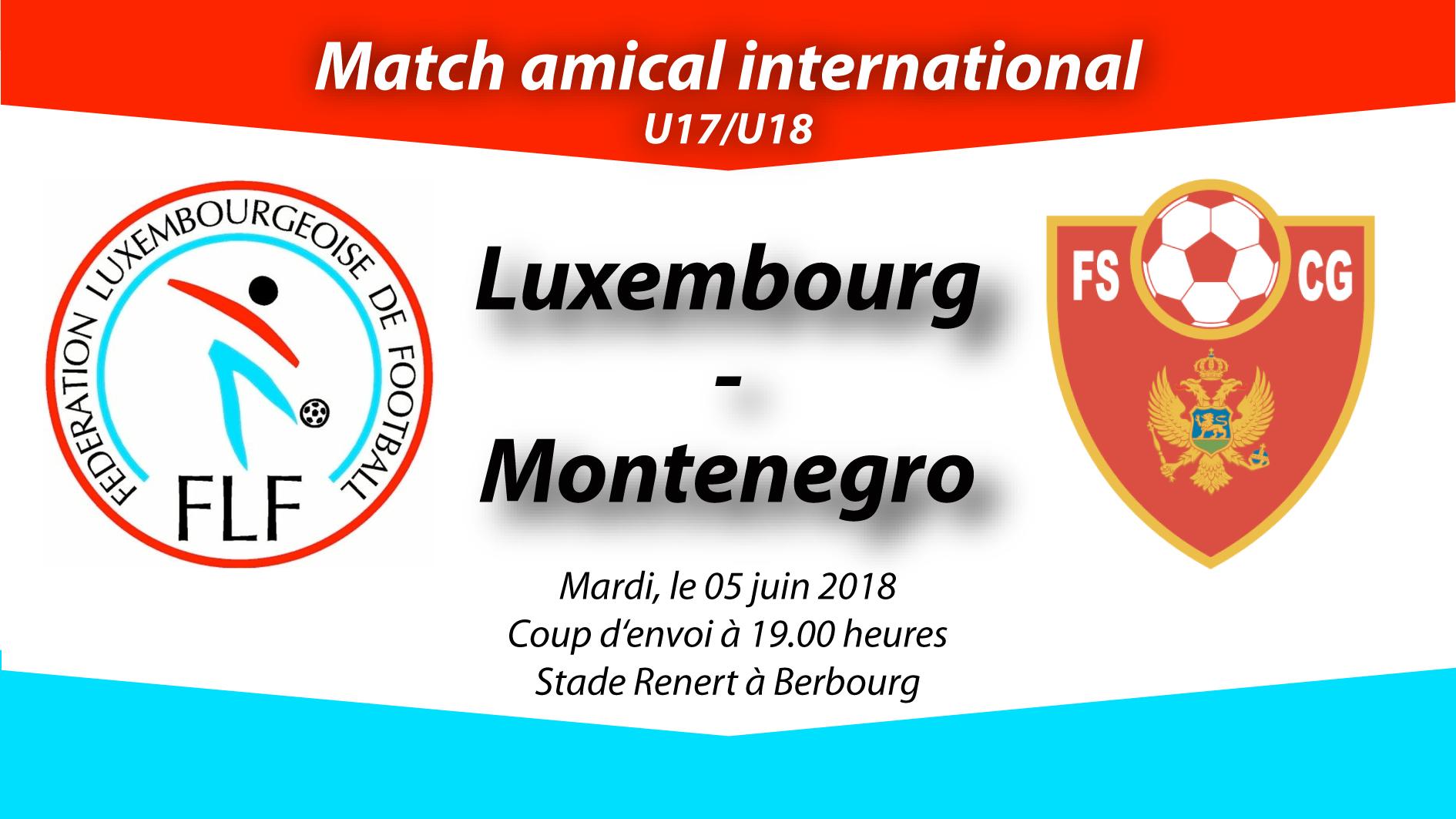 U18 Frëndschaftsmatch zu Berbourg