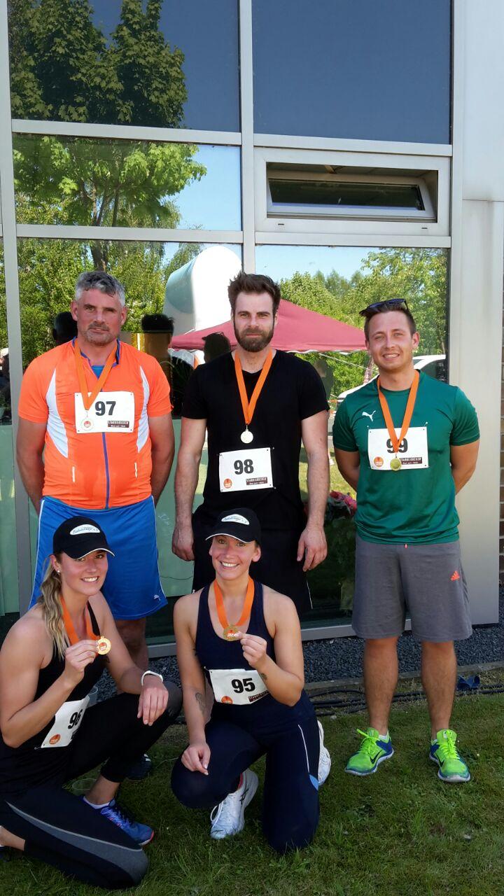 Lauftreff Badenermoor hat am I-Run teilgenommen