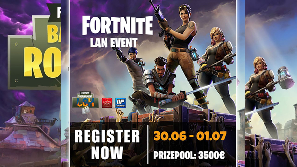 LGX - Fortnite LAN Event
