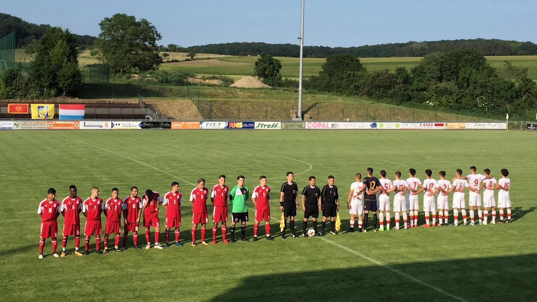 FLF U18 gewënnt géint Montenegro