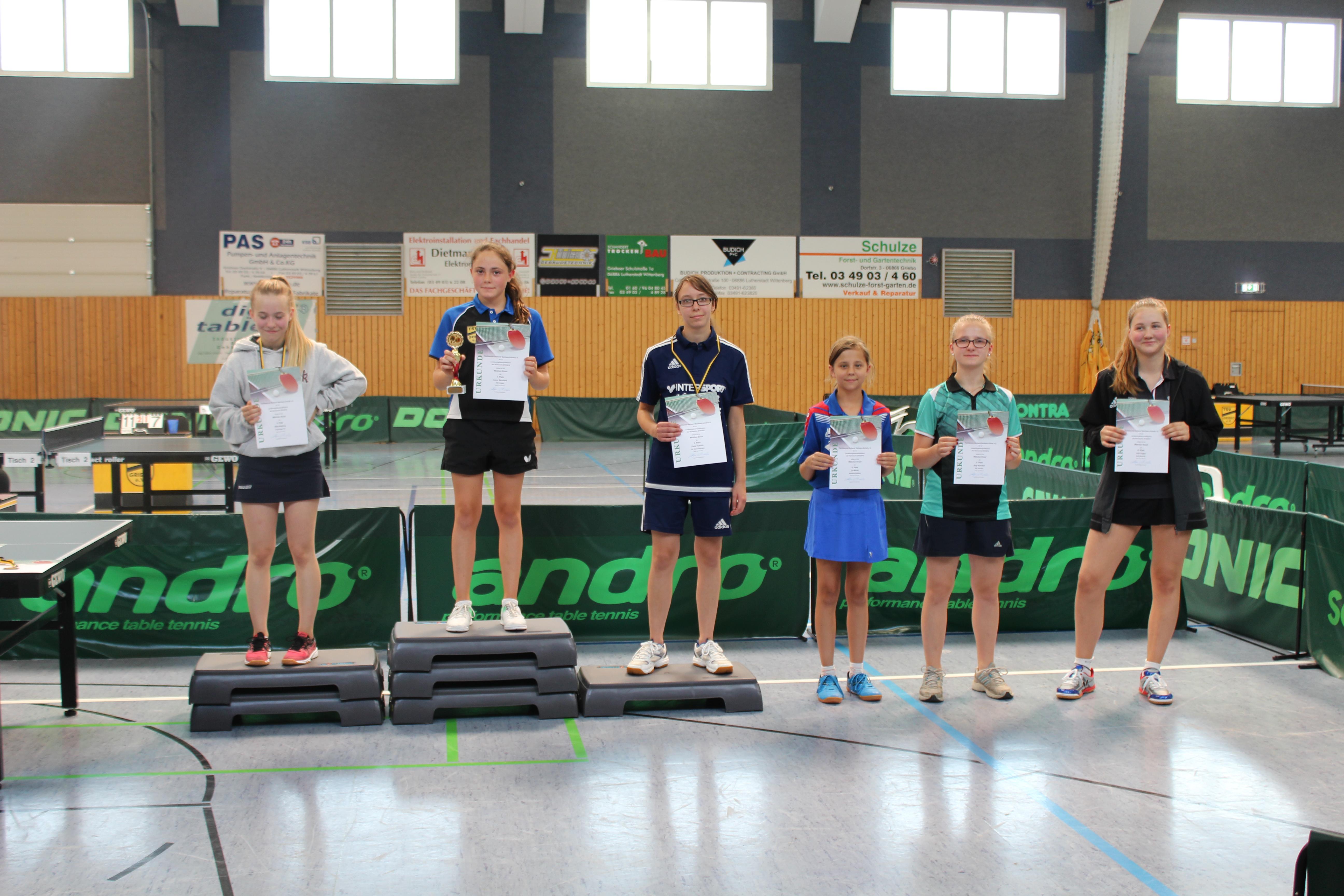 Lilly Voges belegt Rang 6 beim LRLQT in Griebo / 7. Anton und 15. Felix