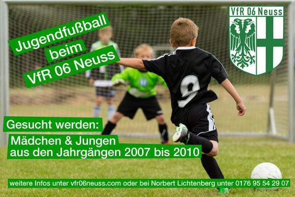 VfR Neuss startet Nachwuchsprojekt!
