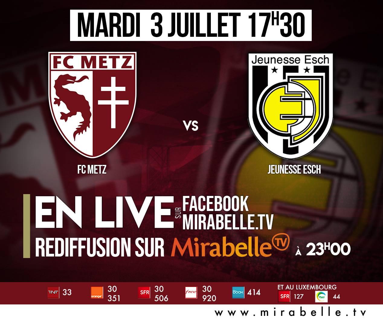 FC METZ - JEUNESSE PASSE À LA TÉLÉ