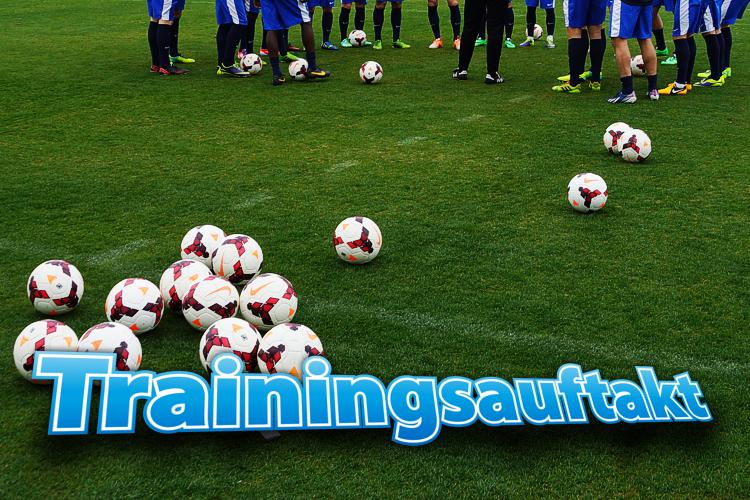 Öffentlicher Trainingsauftakt mit den Fans