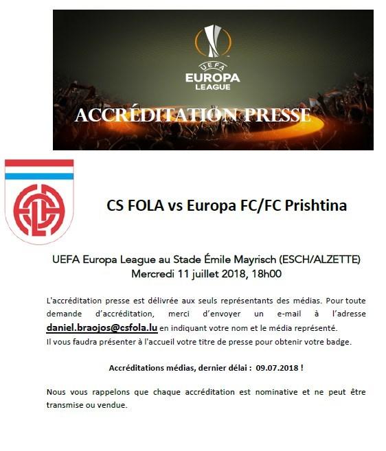Accréditation Presse fr
