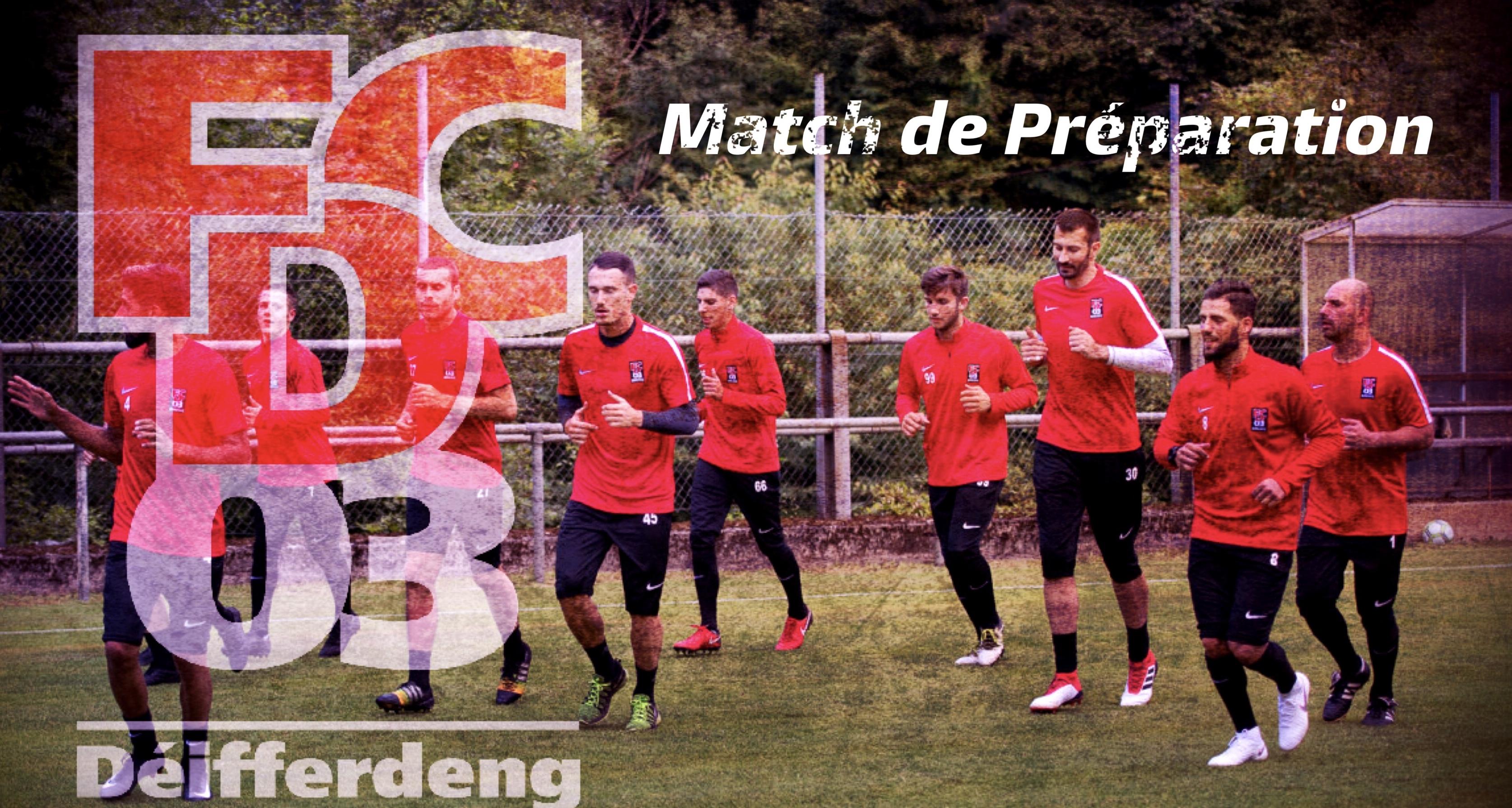 Match de préparation