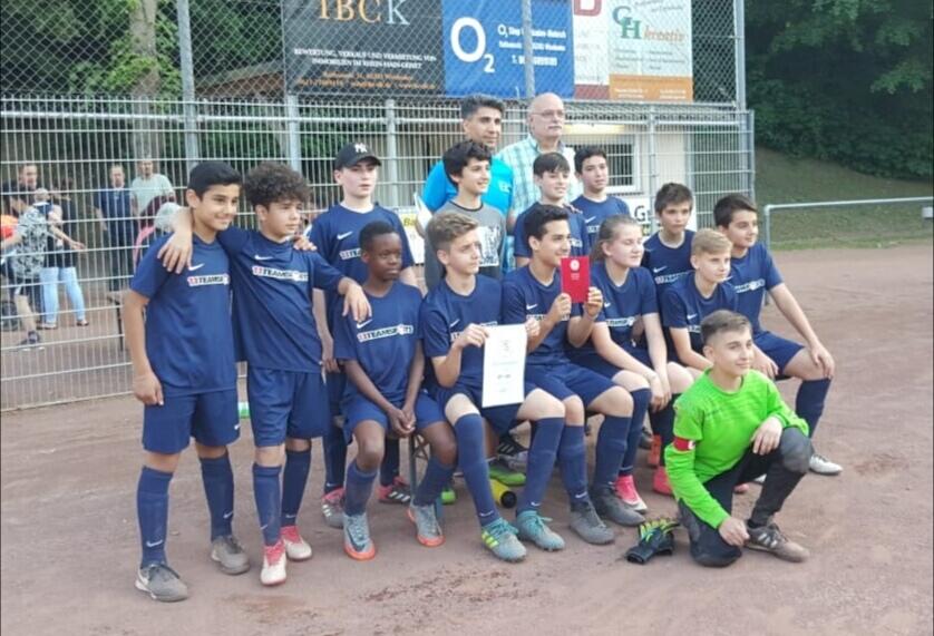 Wir gratulieren der D7-Jugend zur Kreismeisterschaft 2017/2018