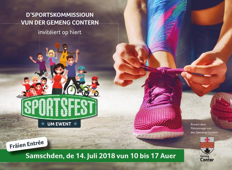 Sportsfest  -   Sportskommissioun Gemeng Contern
