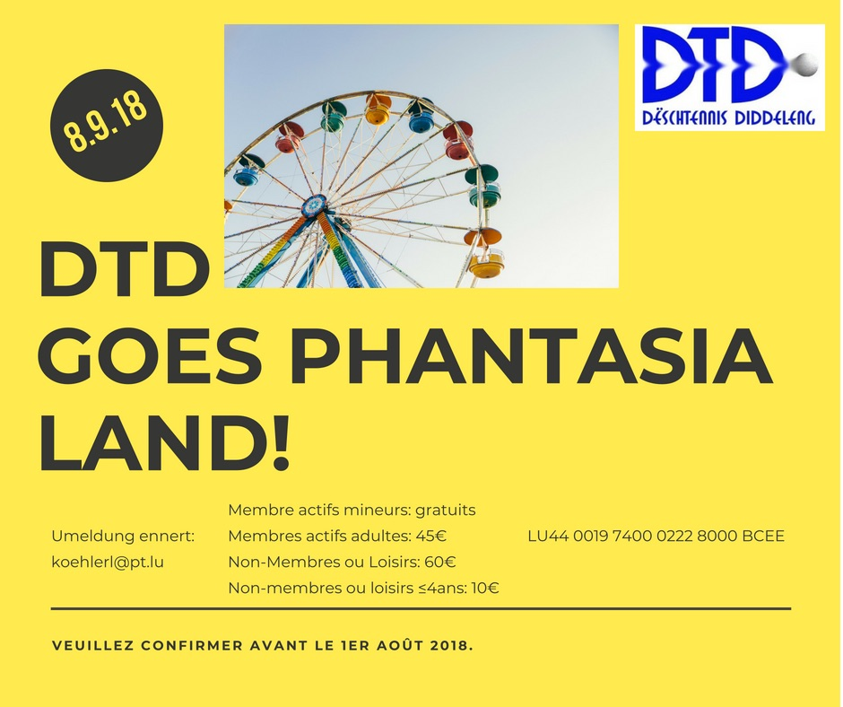 DTD GOES PHANTASIALAND