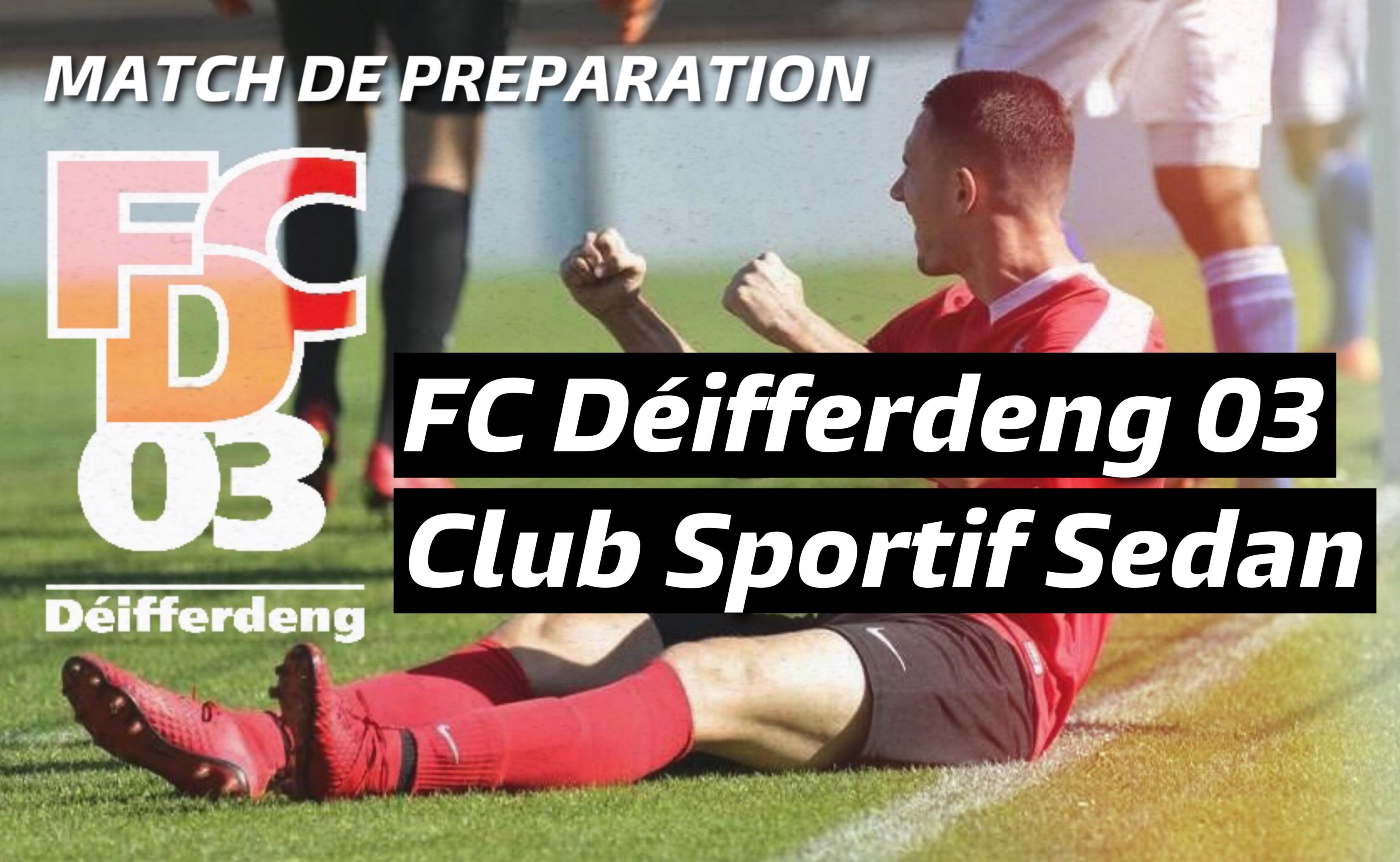 FC Déifferdeng 03 - CS Sedan