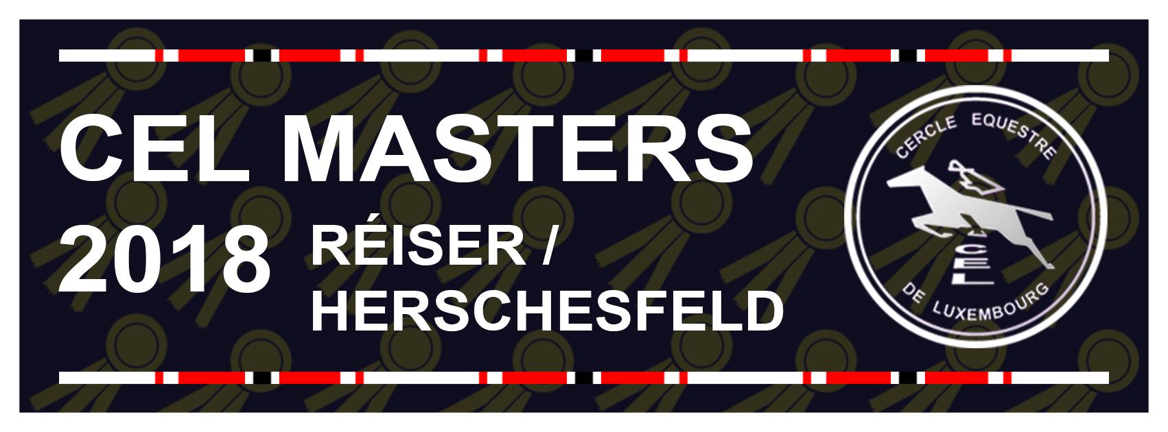CEL Masters eng 3. Keier vum 5. bis den 7. Oktober 2018 !!!