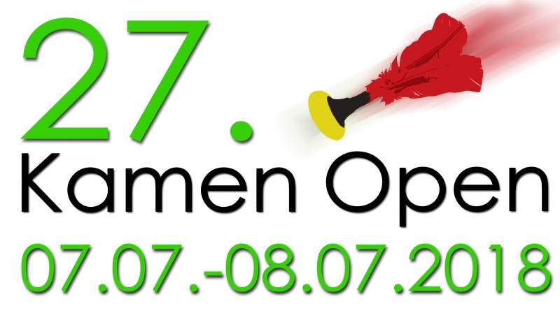 27. Kamen Open den 7.7. an 8.7. 2018 zu Kamen an Daitschland