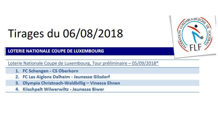 Coupe de Luxembourg 09/09/2018 Luna Oberkorn - Union Kayl/Tétange