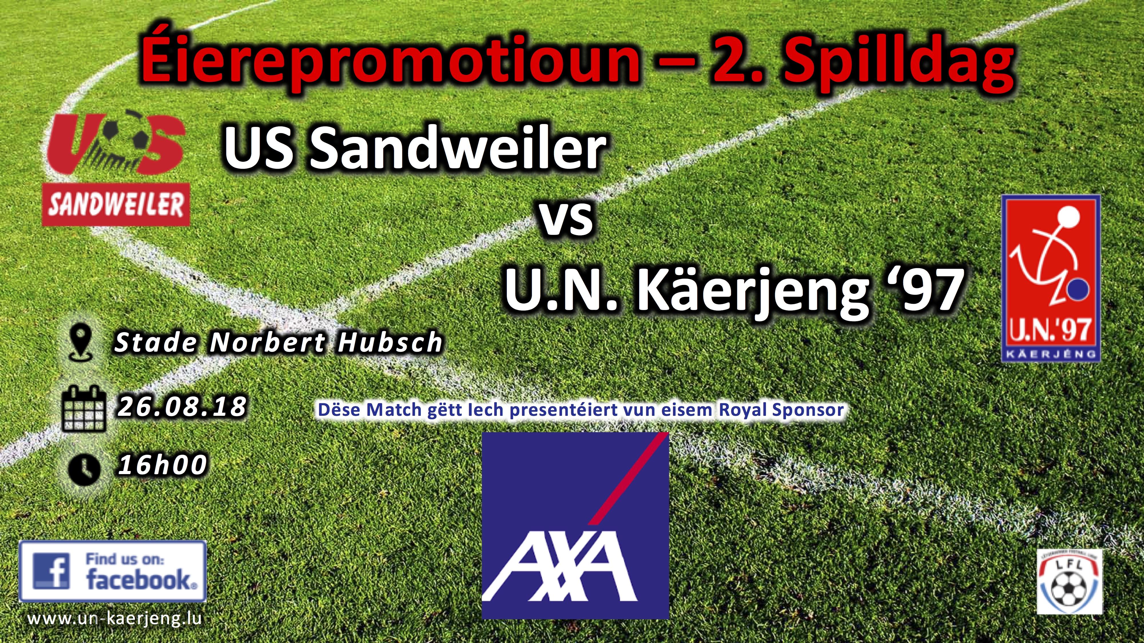 *** Sandweiler - UNK ***