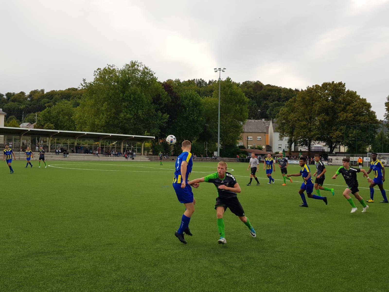 1. Match de Championnat Belvaux - Schouweiler 4 - 0