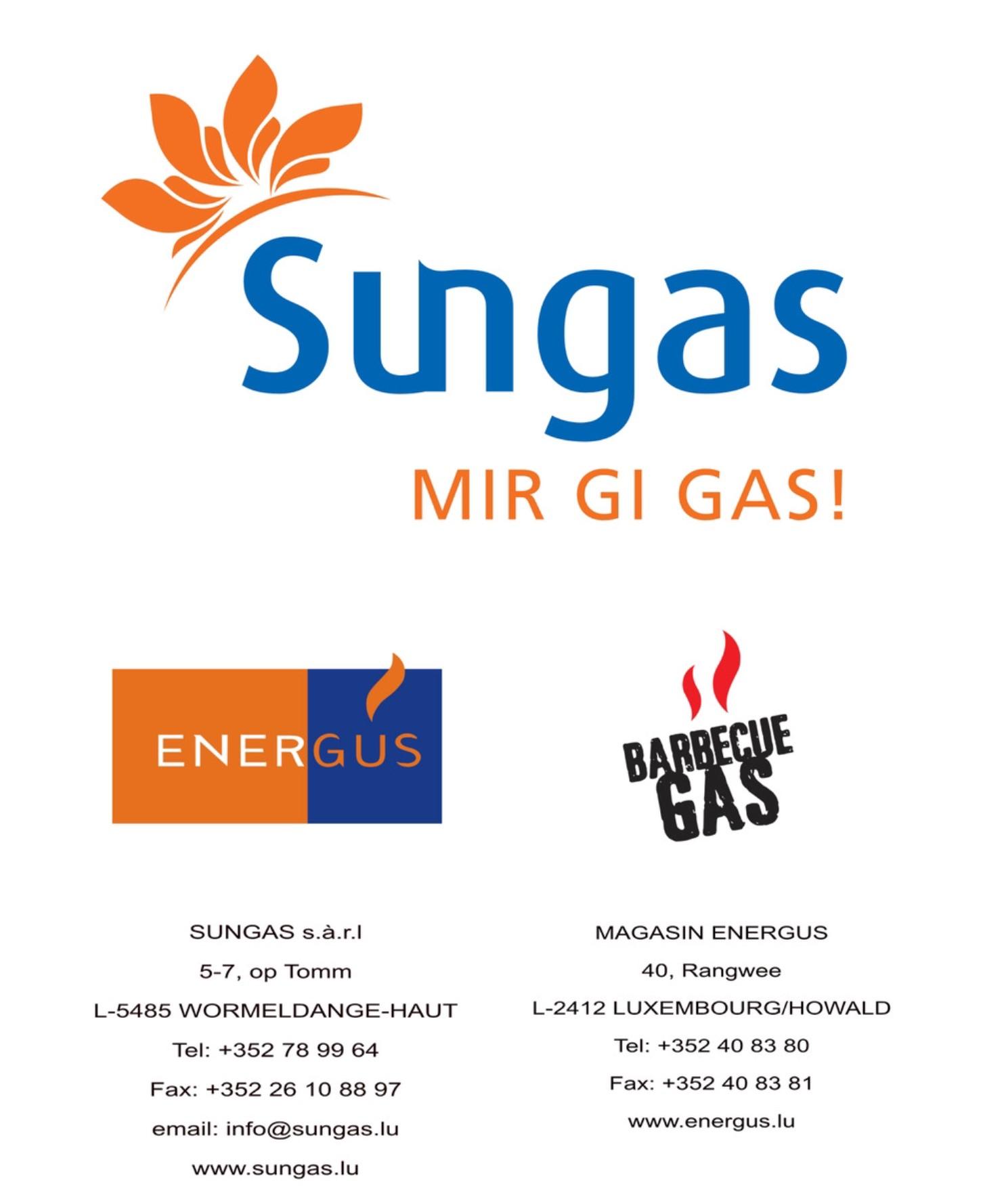 SUNGAS sàrl + Maison ENERGUS