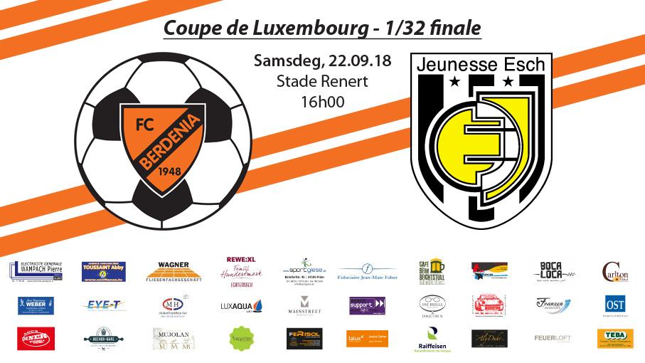INFO: Coupematch géint d'Jeunesse