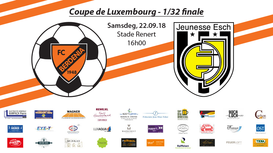 MATCHDAY Coupe de Luxembourg