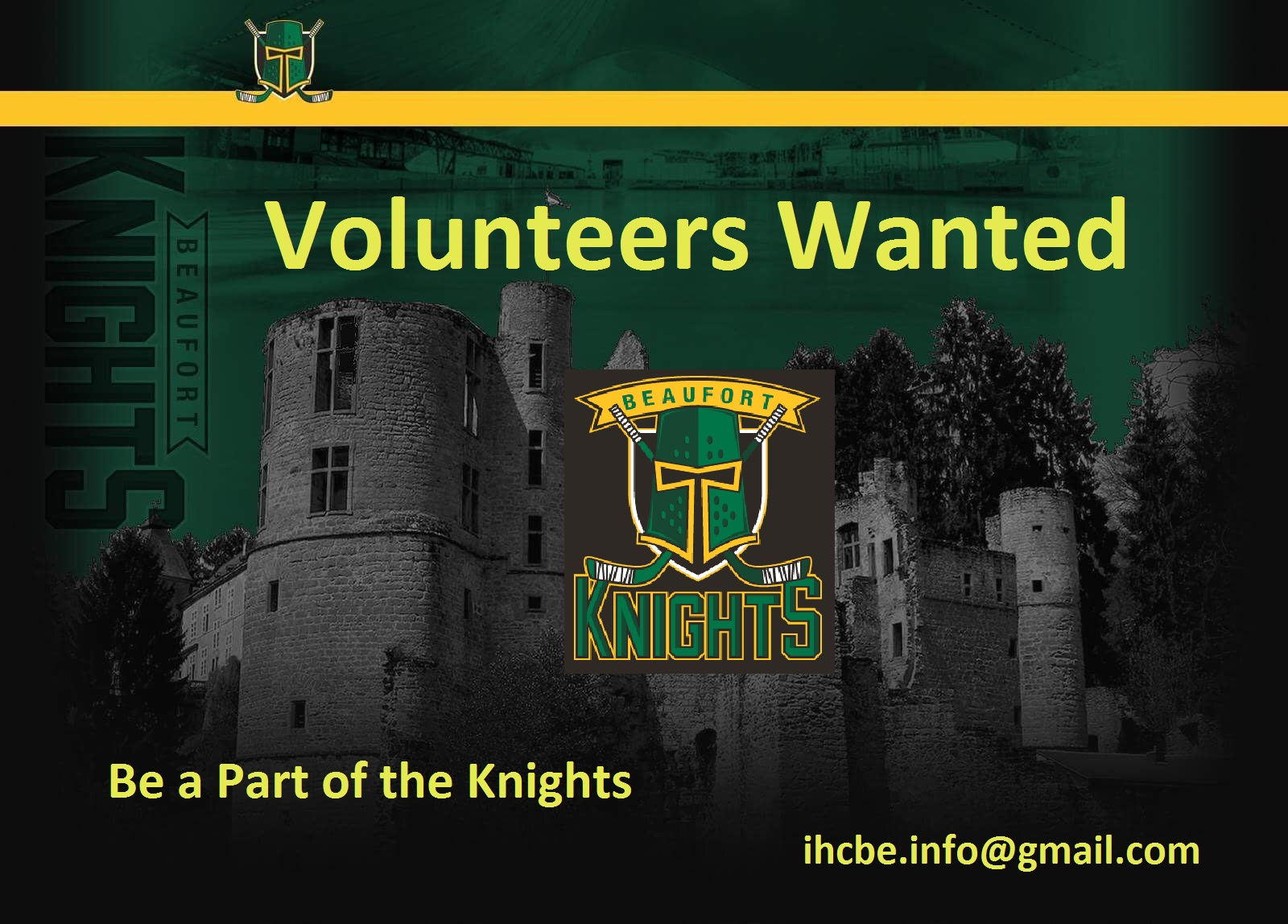 IHCB sicht Benevolen/Volunteers wanted