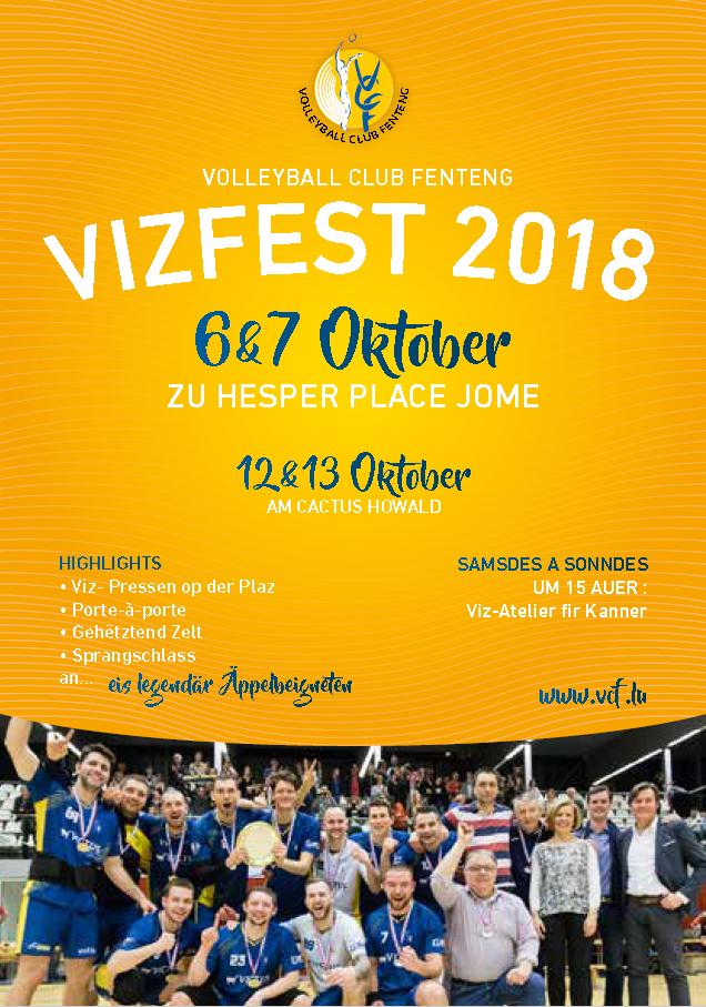 Vizfest 2018 6&7 Octobre à Hesperange, Place Jomé