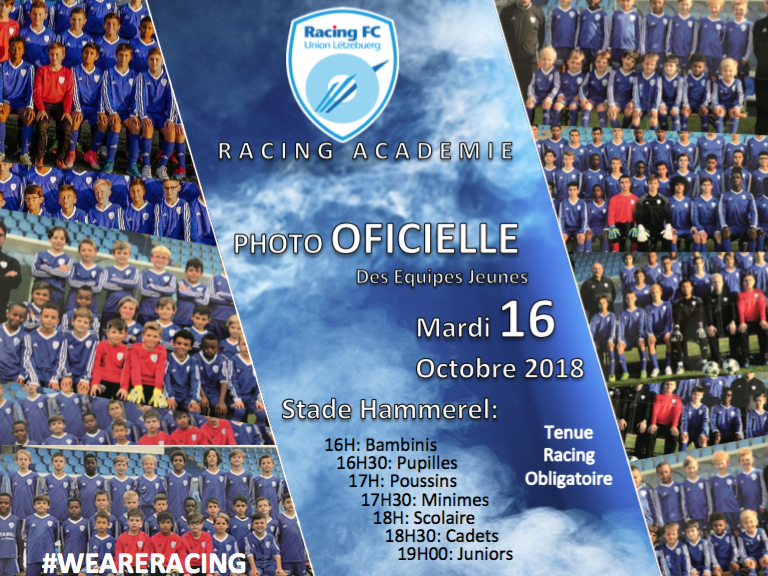 PHOTO OFFICIELLE - RACING ACADEMIE