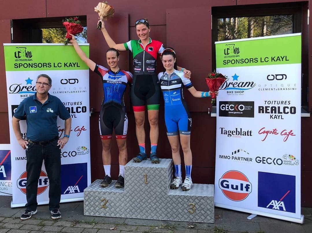 Victoire fir d'Nathalie a gutt 2. Platz fir den Arno