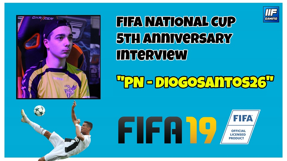 DIOGOSANTOS26 - FIFA 19 National Cup Interview (FR + ENG) !