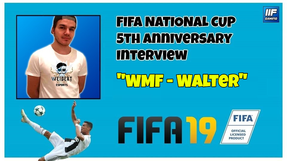 WMF Walter - FIFA 19 National Cup Interview (FR + ENG) !