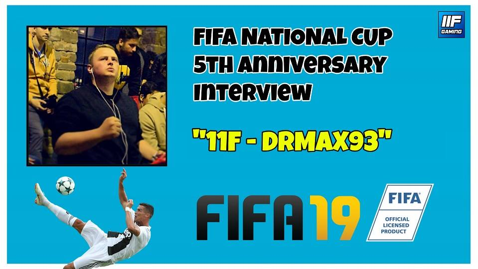 DRMAX93 - FIFA 19 National Cup Interview (FR + ENG) !