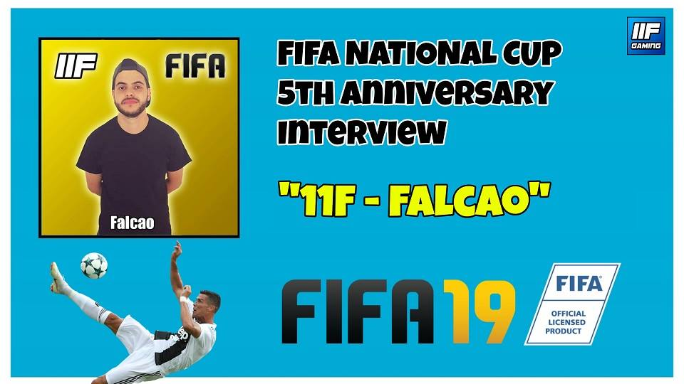 FALCAO - FIFA 19 National Cup Interview (FR + ENG) !